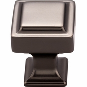 Top Knobs - Transcend Collection - Ascendra Knob 1 Inch - Ash Gray - TK700AG