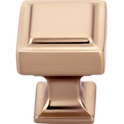 Top Knobs - Transcend Collection - Ascendra Knob 1 Inch - Honey Bronze - TK700HB