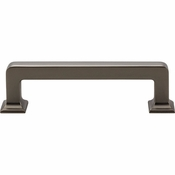 Top Knobs - Transcend Collection - Ascendra Pull 3 3/4 Inch (c-c) - Ash Gray - TK703AG
