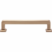Top Knobs - Transcend Collection - Ascendra Pull 5 1/16 Inch (c-c) - Honey Bronze - TK704HB