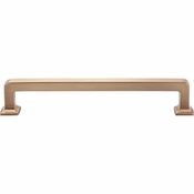 Top Knobs - Transcend Collection - Ascendra Pull 6 5/16 Inch (c-c) - Honey Bronze - TK705HB