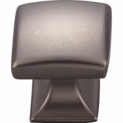 "Top Knobs - Transcend Collection - Contour Knob 1 1/8"" - Ash Gray - TK721AG"