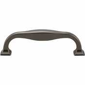 Top Knobs - Transcend Collection - Contour Pull 3 3/4 Inch (c-c) - Ash Gray - TK722AG