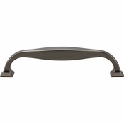 Top Knobs - Transcend Collection - Contour Pull 5 1/16 Inch (c-c) - Ash Gray - TK723AG