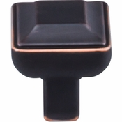 "Top Knobs - Transcend Collection - Podium Knob 1"" - Umbrio - TK670UM"