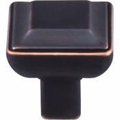 "Top Knobs - Transcend Collection - Podium Knob 1 1/8"" - Umbrio - TK671UM"