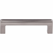 "Top Knobs - Transcend Collection - Podium Pull 3 3/4"" (c-c) - Brushed Satin Nickel - TK672BSN"