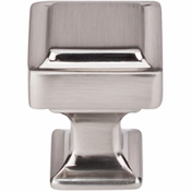 "Top Knobs - Transcend Collection - Ascendra Knob 1"" - Brushed Satin Nickel - TK700BSN"