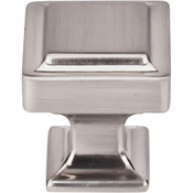 "Top Knobs - Transcend Collection - Ascendra Knob 1 1/8"" - Brushed Satin Nickel - TK701BSN"