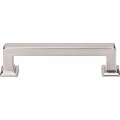 "Top Knobs - Transcend Collection - Ascendra Pull 3 3/4"" (c-c) - Brushed Satin Nickel - TK703BSN"
