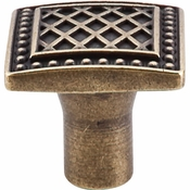 "Top Knobs - Trevi Collection - Trevi Knob 1 1/4"" - German Bronze - TK174GBZ"