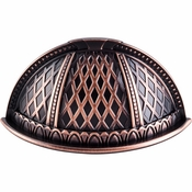 """Top Knobs - Trevi Collection - Trevi Cup Pull 2 1/2"""" (c-c) - Tuscan Bronze - TK172TB"""