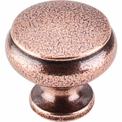 "Top Knobs - Tuscany Collection - Cumberland Knob 1 1/4"" - Old English Copper - M209"