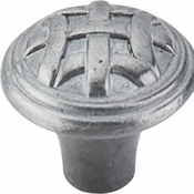 "Top Knobs - Tuscany Collection - Celtic Knob Small 1"" - Pewter Light - M167"