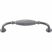 "Top Knobs - Tuscany Collection - Tuscany D-Pull Small 5 1/16"" (c-c) - Pewter Light - M147"