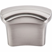 "Top Knobs - Victoria Falls Collection - Victoria Falls Knob 3/4"" (c-c) - Brushed Satin Nickel - TK220BSN"