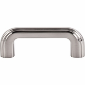 "Top Knobs - Victoria Falls Collection - Victoria Falls Pull 3"" (c-c) - Brushed Satin Nickel - TK222BSN"