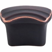 "Top Knobs - Victoria Falls Collection - Victoria Falls Knob 3/4"" (c-c) - Umbrio - TK220UM"