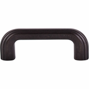 "Top Knobs - Victoria Falls Collection - Victoria Falls Pull 3"" (c-c) - Sable - TK222SAB"