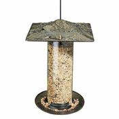 "Whitehall Products - 12"" Cardinal Tube Feeder - French Bronze"