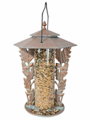 "Whitehall Products - 12"" Oakleaf Silhouette Feeder - Copper Verdi"