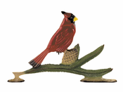 "Whitehall Products - 30"" Cardinal Weathervane - Garden Color Aluminum - 65407"