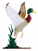"Whitehall Products - 30"" Duck Weathervane - Garden Color Aluminum - 65447"