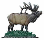 "Whitehall Products - 30"" Elk Weathervane - Rooftop Color Aluminum - 02064"