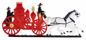 "Whitehall Products - 30"" Fire Wagon Weathervane - Garden Color Aluminum - 65448"
