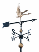"Whitehall Products - 30"" Full-Bodied Goose Weathervane - Gold-Bronze Aluminum - 03218"