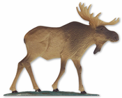 "Whitehall Products - 30"" Moose Weathervane - Garden Color Aluminum - 65433"