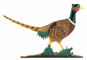 "Whitehall Products - 30"" Pheasant Weathervane - Rooftop Color Aluminum - 03016"