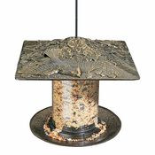 "Whitehall Products - 6"" Cardinal Tube Feeder - French Bronze"