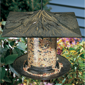 "Whitehall Products - 6"" Pinecone Tube Feeder - French Bronze"