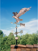 Whitehall Products - Copper Eagle Weathervane - Polished Copper - 45039