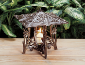Whitehall Products - Daffodil Twilight Lantern - French Bronze
