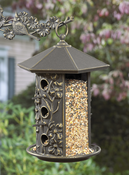 Whitehall Products - Dogwood Bird Feeder - Oil Rub Bronze