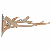 Whitehall Products - Dragonfly Nature Hook - Copper Verdi