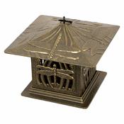 Whitehall Products - Dragonfly Tea Lantern - French Bronze