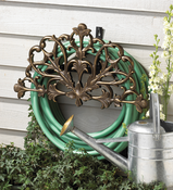 Whitehall Products - Filigree Hose Holder - French Bronze