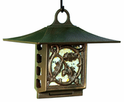 Whitehall Products - Oak Leaf Suet Feeder - French Bronze