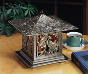 Whitehall Products - Oakleaf Tea Lantern - French Bronze