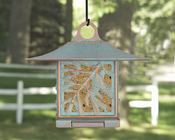 Whitehall Products - Pinecone Suet Feeder - Copper Verdi