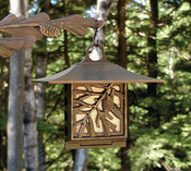 Whitehall Products - Pinecone Suet Feeder - French Bronze