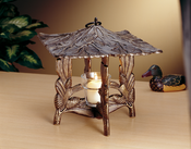 Whitehall Products - Pinecone Twilight Lantern - French Bronze