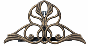Whitehall Products - Victorian Hose Holder - Oil Rub Bronze