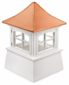 Good Directions - Windsor Style - Louvered Cupola - 2172WV