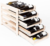 Wine Logic 30 Bottle In Cabinet Wine Rack