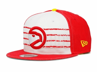 Atlanta Hawks Hardwood Classics Nights Rd. 4 1972-76 Home Uniform New Era Snapback