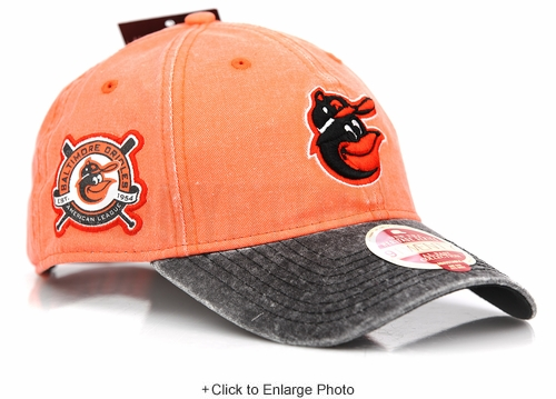 Baltimore Orioles AL East Collection Heritage Series 9TWENTY New Era Strapback Dad Hat